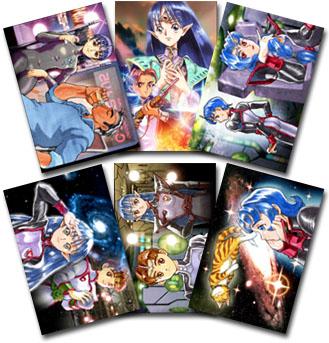 星界の戦旗IIポストカードセット